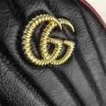 Gucci GG Marmont mini round shoulder bag