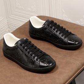 Replica Gucci Ace GG Embossed Sneaker