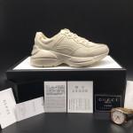 Replica Gucci Mens Rhyton Leather Sneaker