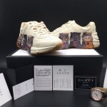 Replica Gucci Mens Rhyton Sneakers