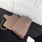 Replica Gucci GG Marmont medium matelasse bag