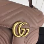 Replica Gucci GG Marmont mini top handle bag