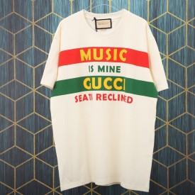 Replica Gucci 100 cotton T-shirt