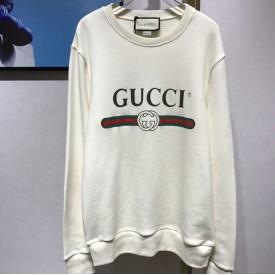 Replica gucci logo sweater