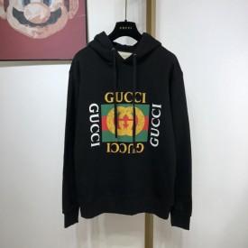 Replica gucci logo hoodies