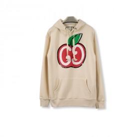 Replica gucci apple prine hoodies white