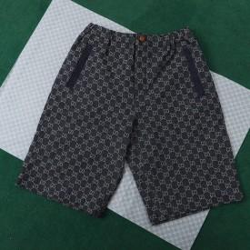 Replica Gucci gg denim shorts