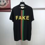 Replica Gucci Fake Not print t shirt