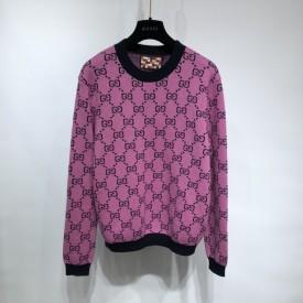 Replica Gucci GG Multicolour wool sweater