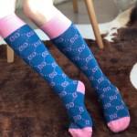 Replica Gucci GG Pattern Cotton Socks