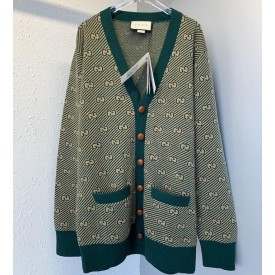 Replica Gucci GG stripe Wool Cardigan
