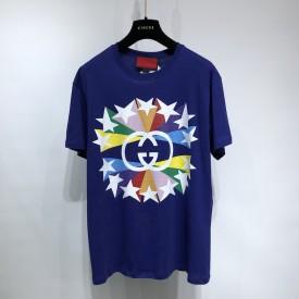 Replica Gucci Animal ICCUG print T shirt