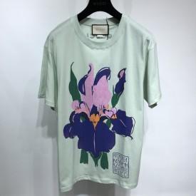 Replica Gucci Ken Scott print cotton T-shirt