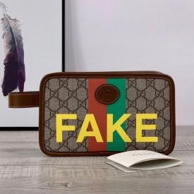 Replica Gucci Fake Not print belt bag