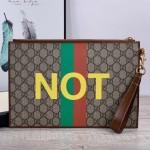 Replica Gucci Fake Not print pouch