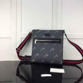 Replica Gucci Bestiary messenger with tigers
