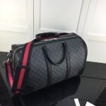 Replica Gucci GG Black carry-on duffle bag
