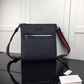 Replica Gucci GG Black messenger Bag
