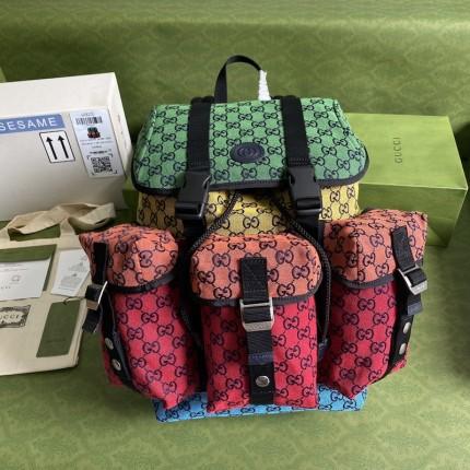 Replica Gucci GG Multicolour backpack