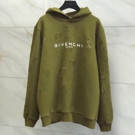 Replica Givenchy destroyed hoodie