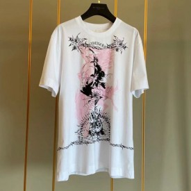 Replica Givenchy Gothic printed T shirt