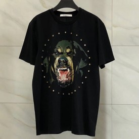Replica Givenchy Rottweiler studded T shirt
