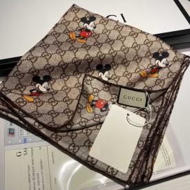 Replica Disney x Gucci silk scarf