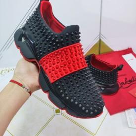 Replica Louboutin Spike Sock Flat