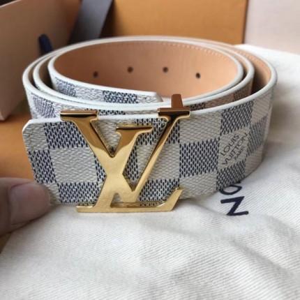 Replica LV Damier Azur Initiales Belt