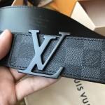 Replica LV Damier Graphite Initiales Belt