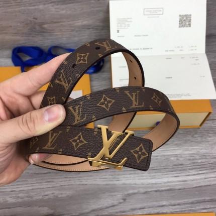 Replica LV monogram women belt