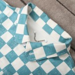 Replica LV Damier Denim Trucker Jacket