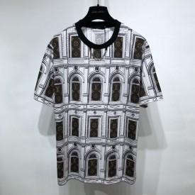 Replica LV Monogram Architecture T-Shirt