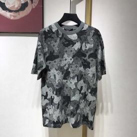 Replica LV Camo Jacquard T Shirt