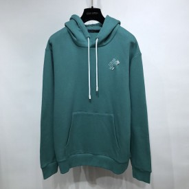 Replica LV Embroidered Signature Hoodie