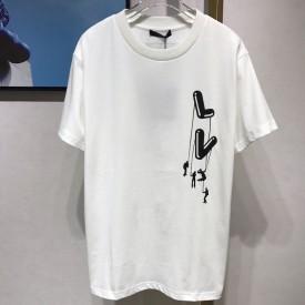 Replica Floating LV Printed T shirt