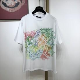 Replica LV Front Printed T shirt