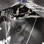 Replica LV Printed Leaf Long Shirt