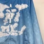 Replica LV Monogram Clouds Windbreaker