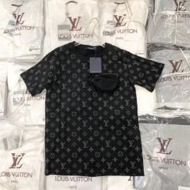 Replica lv monogram pocket t shirt