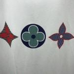 Replica LV Monogram Printed T Shirt