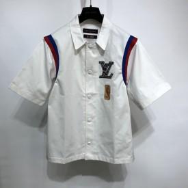 Replica LV x NBA Basketball Short Sleeved Shirt