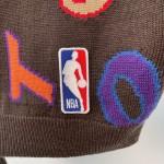 Replica LV x NBA Letters Crewneck