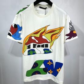 Replica LV Printe T shirt