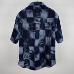 Replica LV Short Sleeved Denim Shirt