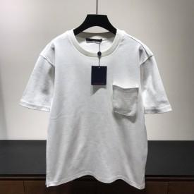 Replica LV Signature 3D Pocket Monogram T shirt White
