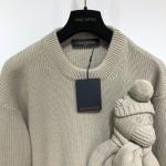 Replica LV Stitch Teddy Pullover