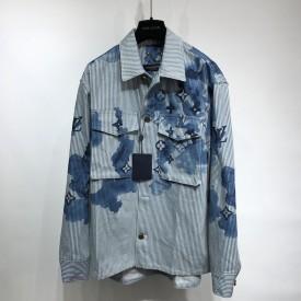 Replica LV Striped Denim Shirt
