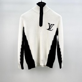 Replica LV Two Tone High Neck with Half Zip