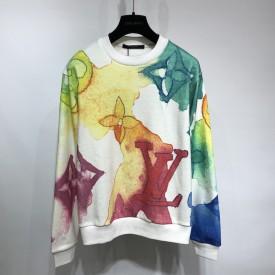 Replica LV Watercolour Monogram Sweatshirt
